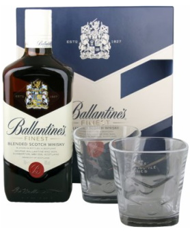 BALLANTINES 0.70L+2ČAŠE 40%