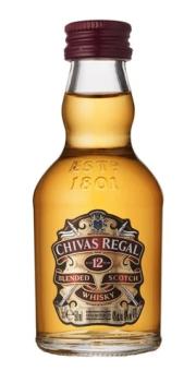 12 x CHIVAS REGAL 0.05L 40%